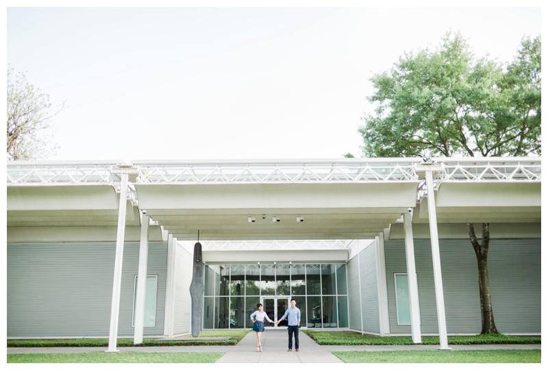 zane and rosanna houston biscuit paint wall menil museum hermann park engagement session by sharon nicole photography