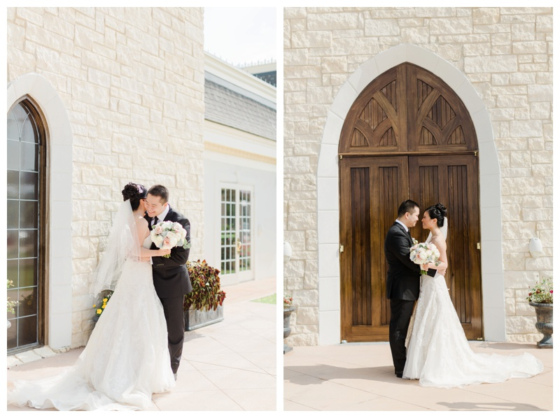 tina and ray ashton gardens west pink houston wedding by sharon nicole photography